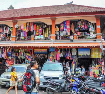 Sukawati Art Market in Bali Image 1