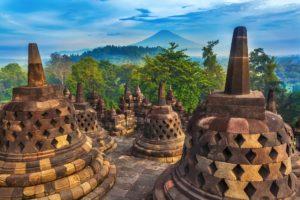 Borobudur temple, Malaysia, Buddhism
