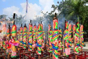 The Senggarang village, Riau, Indonesia, Bintan