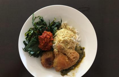 Local  dish of Indonesia