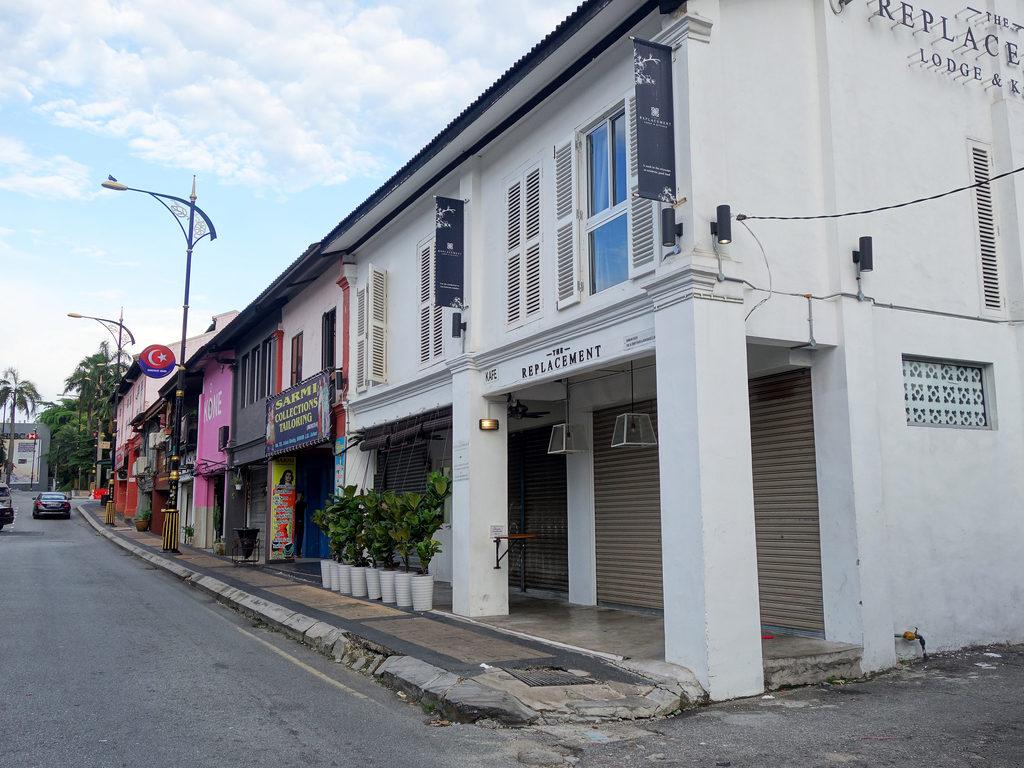 A street in Johor Bahru
